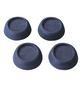 WENKO Vibrationsdämpfer, BxHxL: 4,5 x 2 x 4,5 cm, Thermoplast, grau-Thumbnail