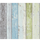 Vliestapete »Best of Wood´n Stone«, grün/blau, strukturiert, für Feuchträume geeignet-Thumbnail