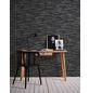 Vliestapete »Best of Wood´n Stone«, schwarz, strukturiert, für Feuchträume geeignet-Thumbnail