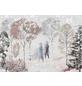 Vliestapete »Frozen Natural Spirit«, bunt, glatt-Thumbnail