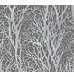 Vliestapete »Life 3 «, grau/silberfarben, strukturiert, für Feuchträume geeignet-Thumbnail