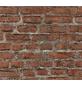 Vliestapete »Neue Bude 2.0 «, rot/grau, glatt, für Feuchträume geeignet-Thumbnail