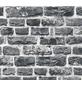 Vliestapete »Neue Bude 2.0 «, schwarz/grau, glatt, für Feuchträume geeignet-Thumbnail