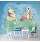 Vliestapete »Winnie Pooh Picnic«, bunt, glatt-Thumbnail