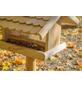 DOBAR Vogelfutterhaus, für Vögel, Kiefernholz/Kunststoff, natur/Holzfarben-Thumbnail
