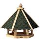 DOBAR Vogelfutterhaus mit Bitumenschindeln-Thumbnail