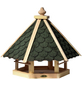 DOBAR Vogelhaus »mit grünen Bitumenschindeln«, Wildvögel-Thumbnail