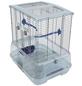Vogelkäfig, BxHxT: 45,7 x 50,8 x 35,6 cm, weiss/blau-Thumbnail