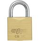 ABUS Vorhangschloss, aus Metall, 30 mm Breite, messingfarben-Thumbnail