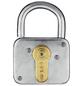 ABUS Vorhangschloss, aus Metall, 93 mm Breite, silberfarben-Thumbnail
