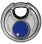 ABUS Vorhangschloss, aus Metall, 96 mm Breite, silberfarben-Thumbnail