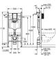 GROHE Vorwandelement für WC »Solido«, 113,5 cm-Thumbnail
