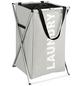 WENKO Wäschesammler, BxHxL: 35 x 58 x 37 cm, Polyester/Aluminium-Thumbnail