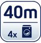 LEIFHEIT Wäscheschirm, Leinenlänge: 40 m-Thumbnail