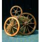 PROMADINO Wagenrad, BxH: 50 x 14 cm, braun, Holz-Thumbnail
