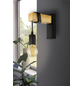 EGLO Wand-/Deckenleuchte »TOWNSHEND« schwarz/braun, 10 W, E27, ohne Leuchtmittel-Thumbnail