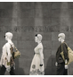 Wand- und Bodenfliese »Style«, anthrazit, matt, rektifiziert-Thumbnail