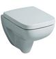 GEBERIT Wand WC »Renova Compact«, Tiefspüler, weiß, mit Spülrand-Thumbnail