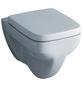 GEBERIT Wand WC »Renova Nr. 1 Plan«, Flachspüler, weiß, mit Spülrand-Thumbnail