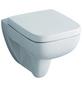 GEBERIT Wand WC »Renova Nr. 1 Plan«, Tiefspüler, weiß, spülrandlos-Thumbnail