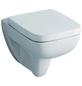 GEBERIT Wand WC »Renova Nr. 1«, Tiefspüler, weiß, mit Spülrand-Thumbnail