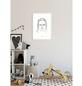 KOMAR Wandbild, BxH: 40 x 50 cm, weiß-Thumbnail