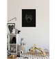 KOMAR Wandbild, BxH: 50 x 70 cm, schwarz|weiß-Thumbnail