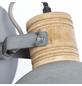 BRILLIANT Wandleuchte dimmbar, braun/betongrau-Thumbnail