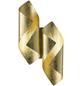 wofi® Wandleuchte goldfarben 3 W, 2-flammig, inkl. Leuchtmittel in warmweiß-Thumbnail