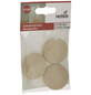 HETTICH Wandpuffer, selbstklebend, Kunststoff, beige, Ø 40 x 10 mm, 3 St.-Thumbnail