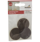 HETTICH Wandpuffer, selbstklebend, Kunststoff, braun, Ø 40 x 10 mm, 3 St.-Thumbnail