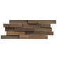 INDO Wandverblender »INDO TEAK«, braun, geölt, Holz, Stärke: 20 mm-Thumbnail
