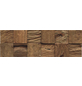 INDO Wandverblender »INDO TEAK CLASSIC CUBE«, braun, unbehandelt, Holz, Stärke: 20 mm-Thumbnail