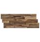 INDO Wandverblender »INDO Teak Elegance«, braun, geölt, Holz, Stärke: 20 mm-Thumbnail