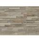 INDO Wandverblender »INDO TEAK«, grau, geölt, Holz, Stärke: 20 mm-Thumbnail