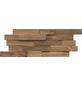 INDO Wandverblender »INDO TEAK«, teak, unbehandelt, Holz, Stärke: 20 mm-Thumbnail
