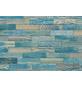 WODEWA Wandverkleidung, braun/blau, Holz, Stärke: 6 mm, mit Echtholzriemchen in 3D-Optik-Thumbnail
