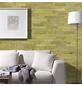 WODEWA Wandverkleidung, braun/gelb, Holz, Stärke: 6 mm, mit Echtholzriemchen in 3D-Optik-Thumbnail