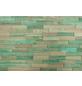 WODEWA Wandverkleidung, braun/grün, Holz, Stärke: 6 mm, mit Echtholzriemchen in 3D-Optik-Thumbnail