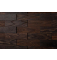 WODEWA Wandverkleidung, dunkelbraun, Holz, Stärke: 6 mm, mit Echtholzriemchen in 3D-Optik-Thumbnail