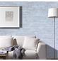 WODEWA Wandverkleidung, weiß, Holz, Stärke: 6 mm, mit Echtholzriemchen in 3D-Optik-Thumbnail