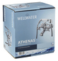 WELLWATER Wannenarmatur »ATHENAS«, chromfarben-Thumbnail