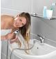 WENKO Waschbeckendusche, silberfarben|grau, rund, Höhe: 35 mm-Thumbnail