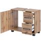SCHILDMEYER Waschbeckenunterschrank »Milan«, B x H x T: 65 x 59 x 32 cm Anschlagrichtung: links-Thumbnail