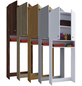 VCM Waschmaschinenschrank »Lona«, BxHxT: 64 x 182 x 27 cm-Thumbnail