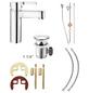 CORNAT Waschtisch-Einhebelmischer, Messing-Thumbnail