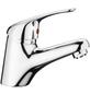 Waschtisch-Niederdruck-Einhebelmischer Chrom-Thumbnail