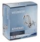 """WELLWATER Waschtischarmatur »ATHENAS«, Messing, glänzend, ⅜"""", inkl. Ablaufgarnitur-Thumbnail"""