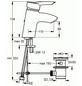 """SANICOMFORT Waschtischarmatur »CLEARWATER«, Messing glänzend, ½"""", inkl. Ablaufgarnitur-Thumbnail"""