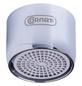 CORNAT Wasserspar-Strahlregler, Grau/Chromfarben-Thumbnail